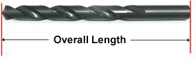 Viking Drill and Tool - Overall Length